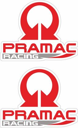 """Picture of """"Pramac Racing"""" Decals / Stickers"""
