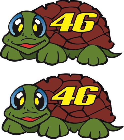 Picture of Valentino Rossi Decals / Stickers