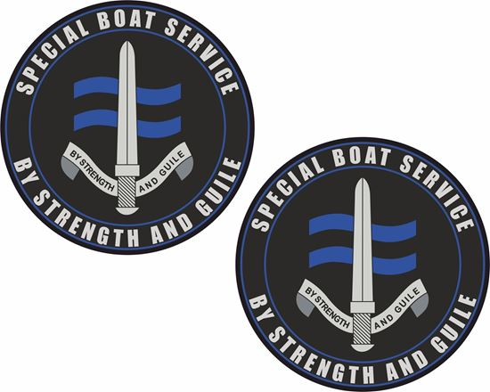 Picture of SBS (Special Boat Services) Stickers