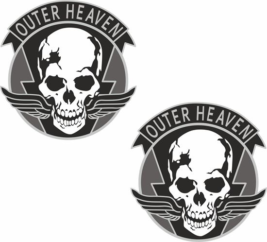 """Picture of """"Outer Heaven"""" Decals / Stickers"""