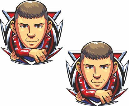 Picture of Scott Redding  Decals / Stickers