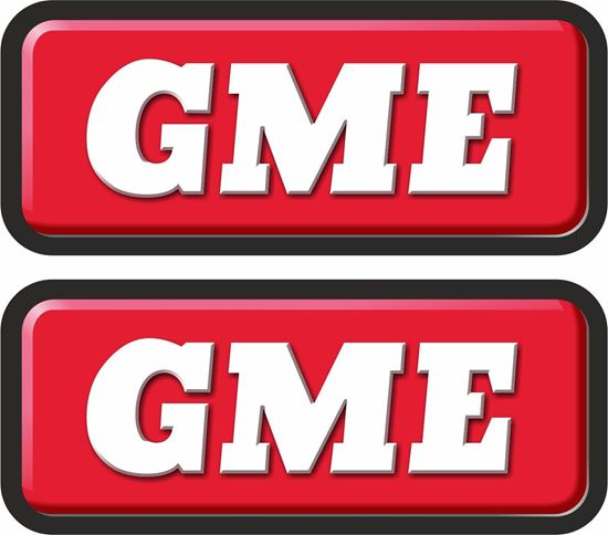 """Picture of """"GME"""" Decals  / Stickers"""