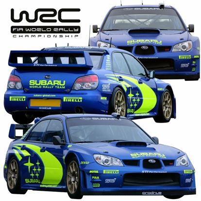 Picture of Subaru Impreza S11 / S12 Chris Atkinson 2005 - 2007  replica WRC full Graphics