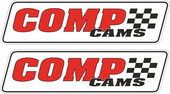 """Picture of """"Comp Cams"""" Decals / Stickers"""
