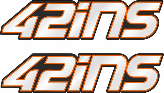 """Picture of """"42ins"""" Alex Rins Decals / Stickers"""