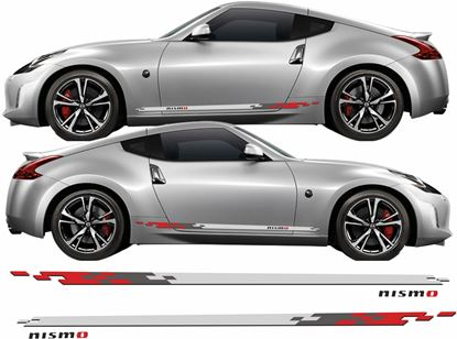Picture of Nissan 350Z / 370Z Nismo side Stripes  / Stickers