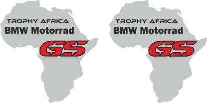 Picture of BMW GS Trophy Africa Decals / Stickers