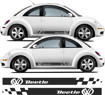 Picture of Beetle  side Stripes Decals / Stickers