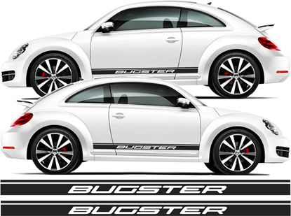 Picture of Beetle Bugster side Stripes Decals / Stickers