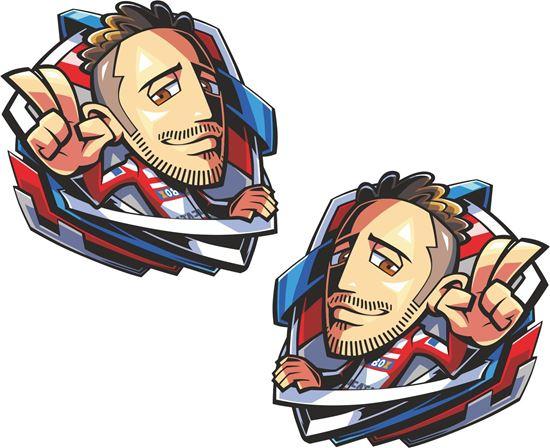 Picture of Andrea Dovizioso  Decals / Stickers