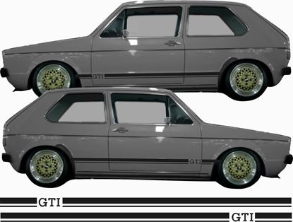 Picture of Golf MK1 side Stripes / Stickers