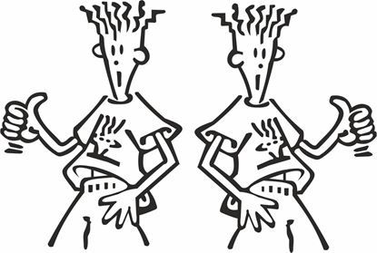 Picture of Fido Dido Decals / Stickers
