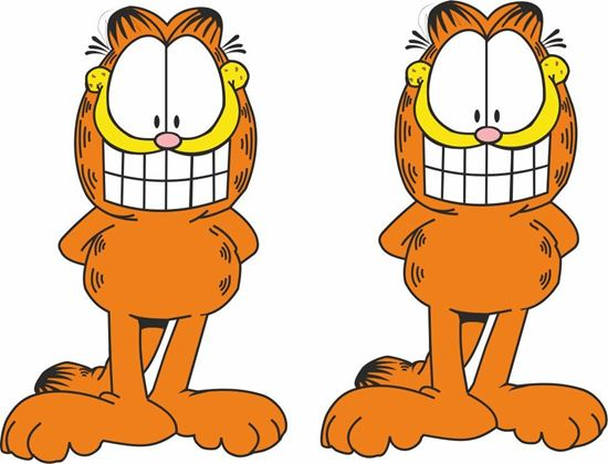 Picture of Garfield Decals / Stickers