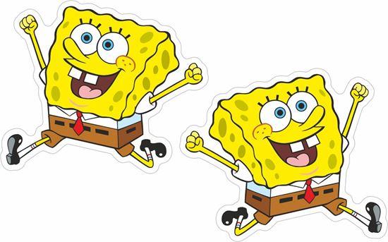 Picture of Spongebob Squarepants Decals / Stickers