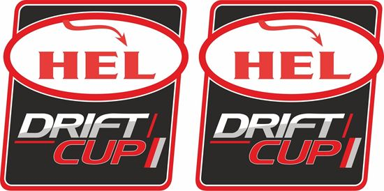 Picture of Hel Drift Cup Decals / Stickers