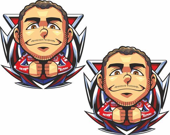 Picture of Danilo Petrucci Decals / Stickers