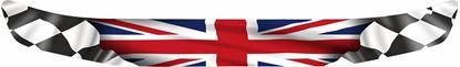 "Picture of ""United Kingdom"" Helmet Visor Strip"