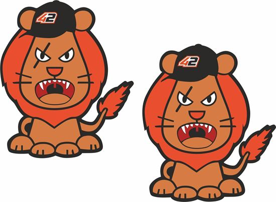 Picture of Alex Rins Mascot Decals / Stickers