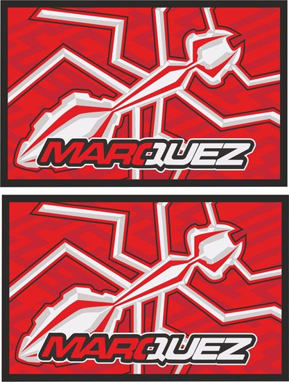 Picture of Marc Marquez Decals / Stickers