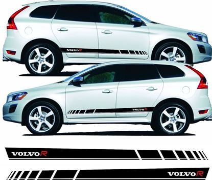 Picture of Volvo XC60 R Design side Stripes  /  Stickers