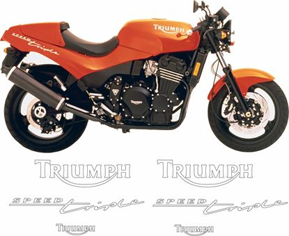 Picture of Triumph Speed Triple 1994 Decals / Stickers