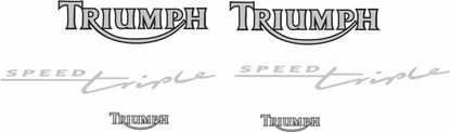 Picture of Triumph Speed Triple 1994 - 1996 Decals / Stickers