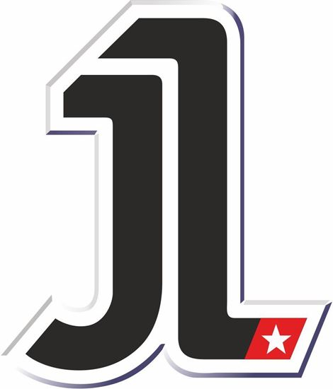 "Picture of ""1""  Jorge Lorenzo Track and street race nose cone number Decal / Sticker"