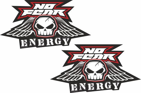 Picture of No Fear Energy Decals / Stickers