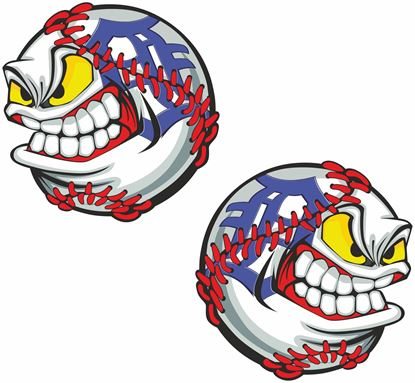 Picture of Baseball Decals / Stickers
