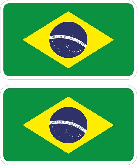 Picture of Brazil Decals / Stickers