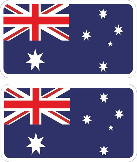 Picture of Australia Decals / Stickers