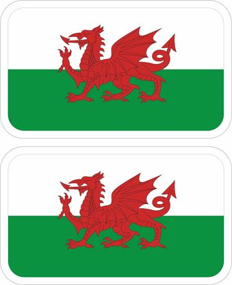 Picture of Wales Decals / Stickers