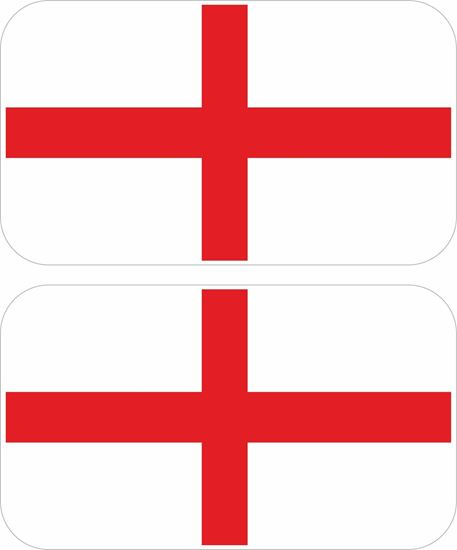 Picture of England St George Decals / Stickers