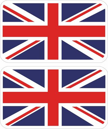 Picture of United Kingdom / Great Britain George Decals / Stickers