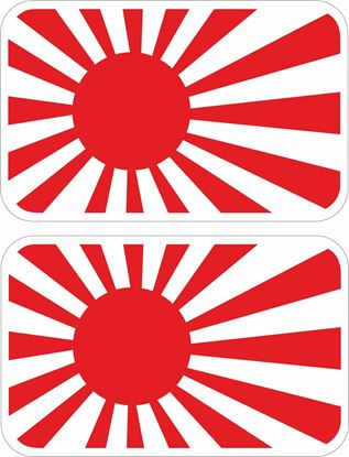 Picture of Rising Sun Decals / Stickers