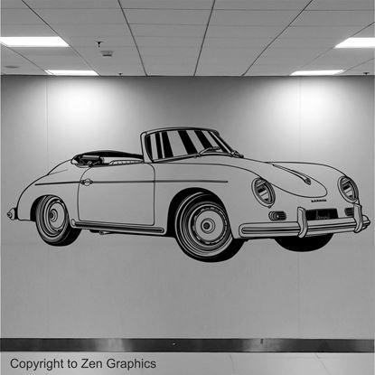 Picture of Porsche 356 Speedster Wall Art sticker