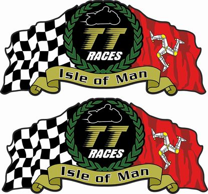 Picture of Isle of Man TT Decals / Stickers