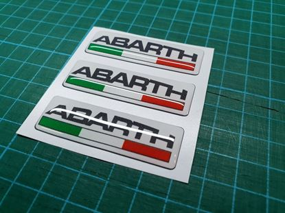 Picture of Fiat  Abarth  Badges 110mm