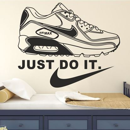 """Picture of """"Just Do it"""" Nike Air Max Wall Art sticker"""