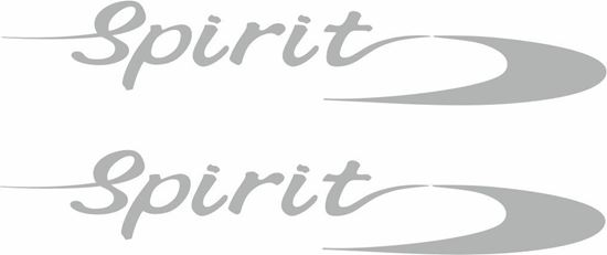 "Picture of Peugeot Boxer replacement ""Spirit"" Decals / Stickers"