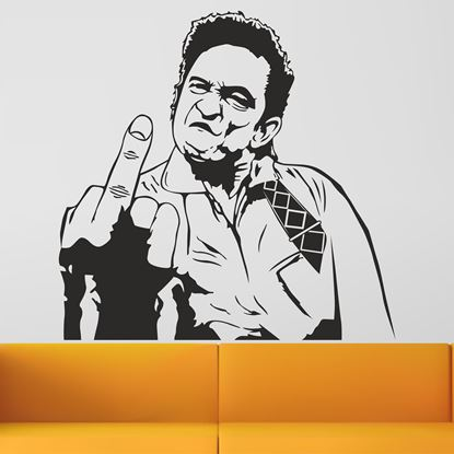 Picture of Johnny Cash Wall Art sticker