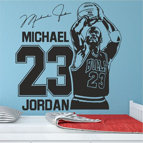 Picture of Michael Jordan Wall Art sticker