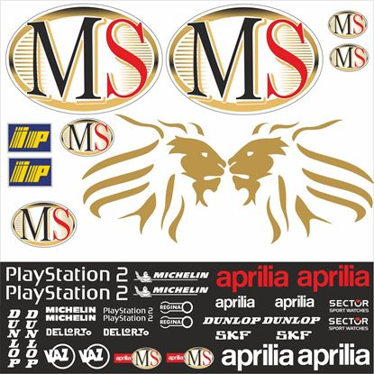 Picture of Aprilia MS Sponsor MotoGP Decals / Stickers Kit