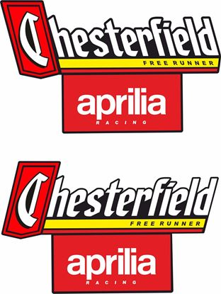 "Picture of ""Chesterfield Aprilia"" Decals / Stickers"
