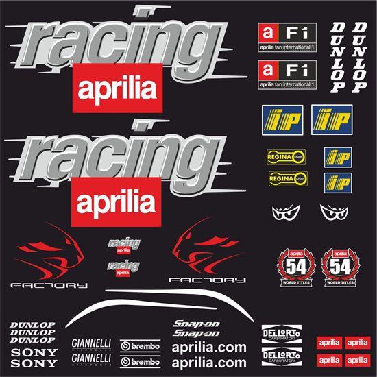 Picture of Aprilia RS 50 / 125 MotoGP Decals / Stickers Kit