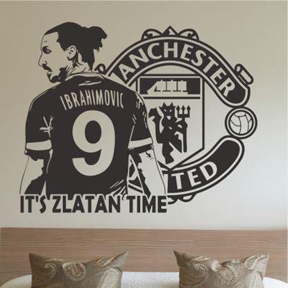 Picture of Zlatan Ibrahimovic  Wall Art sticker