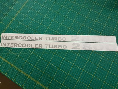 Picture of Intercooler Turbo 2800 replacement Decals / Stickers