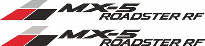 """Picture of Mazda """"MX-5 Roadster RF"""" Decals / Stickers"""