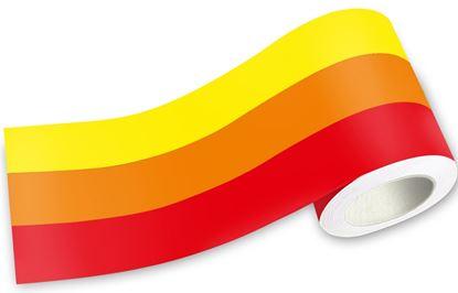 Picture of Retro Tri Colour Stripe