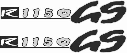 Picture of BMW R 1150 GS 1999 - 2004 replacement Decals / Stickers